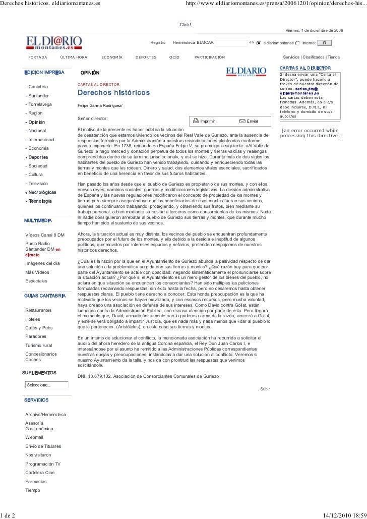 Derechoshistóricos.eldiariomontanes.es                                                     http://www.eldiariomontanes....