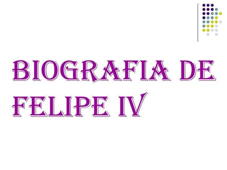 Felipe Iv LucíA 2ºA