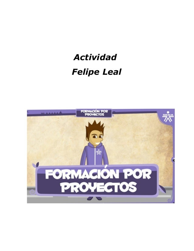 ActividadFelipe Leal