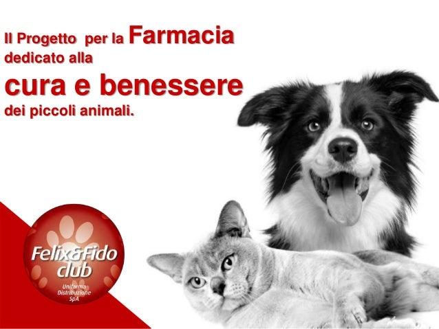 Il Progetto per la Farmacia dedicato alla cura e benessere dei piccoli animali.
