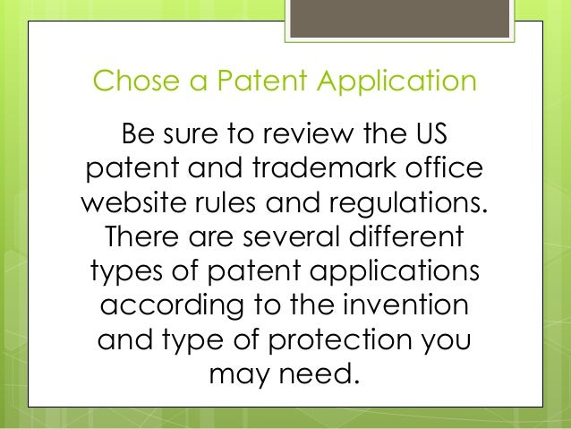 5 Easy Steps to File for a Patent