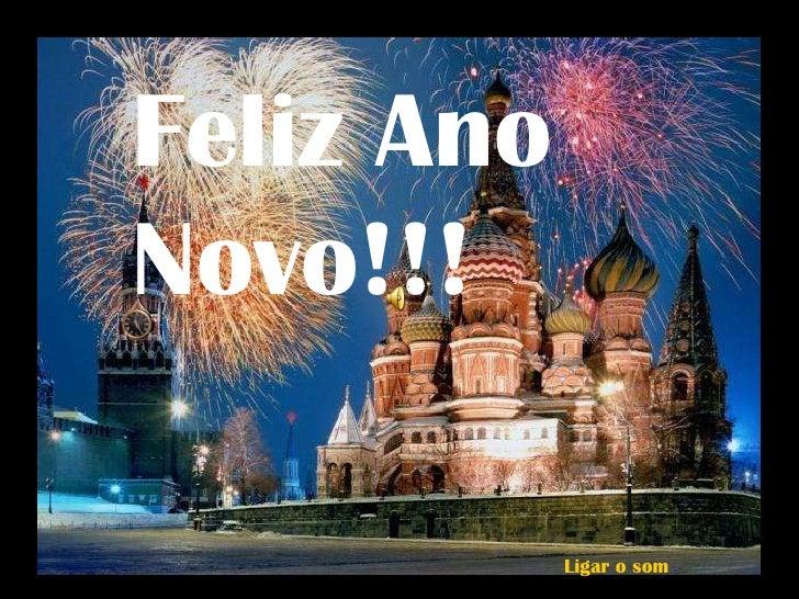Feliz Ano Novo!!! Ligar o som