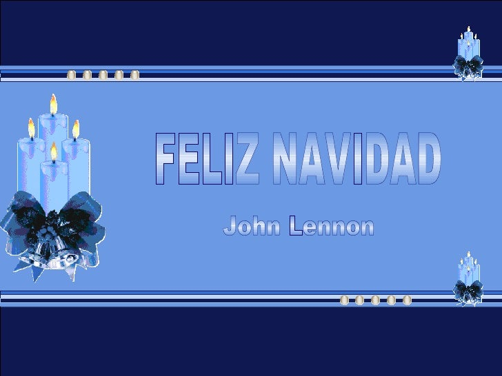 FELIZ NAVIDAD John Lennon