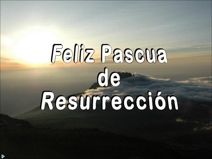 Resultado de imagen de feliz pascua de resurreccion