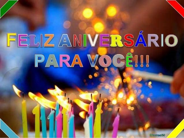 Feliz Aniversario Orkut: Feliz Aniversario Para Voce