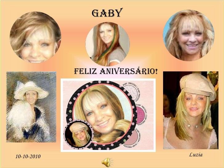 Luzia 10-10-2010 GABY FELIZ ANIVERSÁRIO!