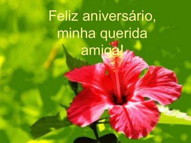 Feliz Aniversário Minha Querida