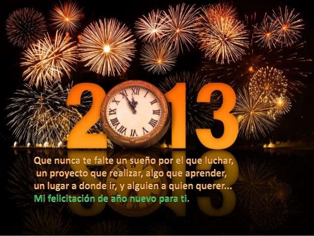 Feliz año nuevo 2013 Slide 3