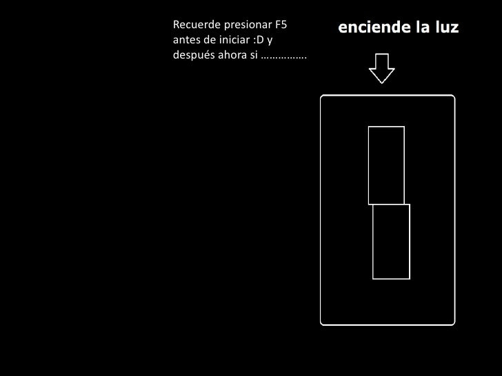 Recuerde presionar F5antes de iniciar :D ydespués ahora si …………….