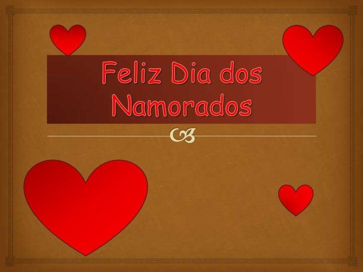 Feliz Dia dos Namorados<br />
