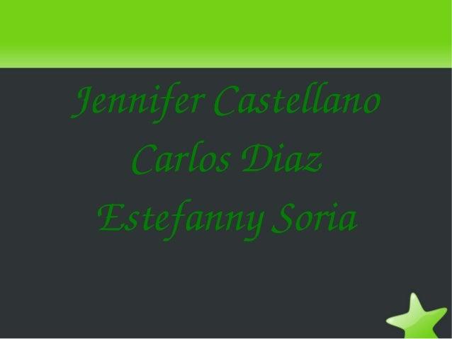 JenniferCastellano       CarlosDiaz     EstefannySoria