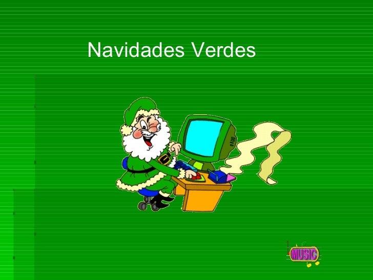 Navidades Verdes
