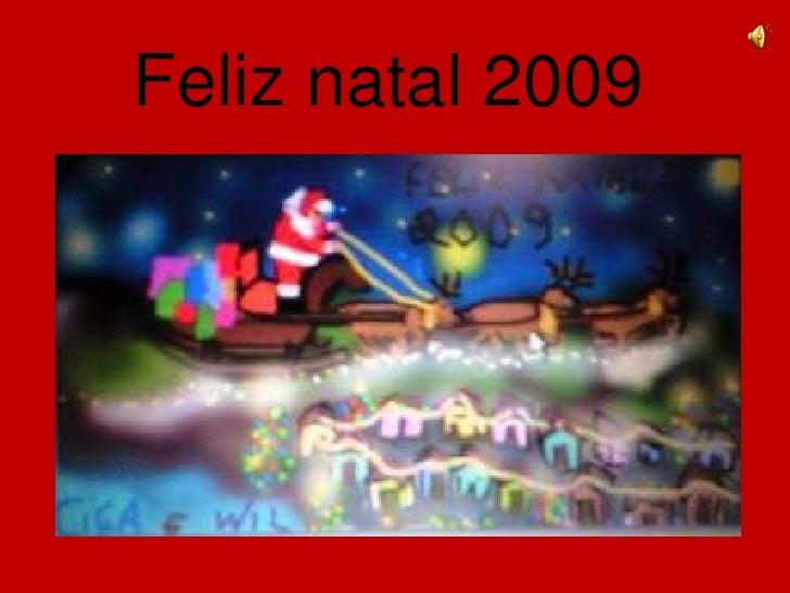 Feliz natal 2009<br />