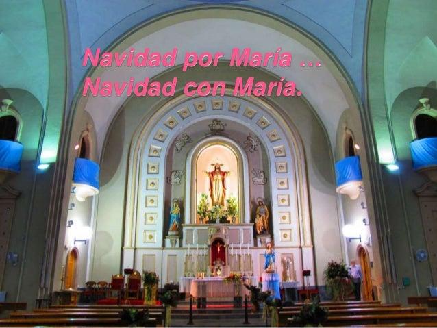 Navidad por María … Navidad con María.