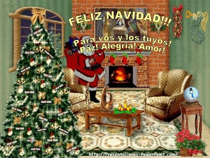 Presentaciones Feliz Navidad.Feliz Navidad Y Anio Nuevo