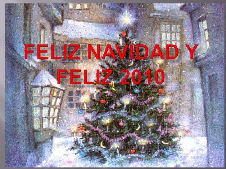Feliz Navidad y Feliz 2010<br />