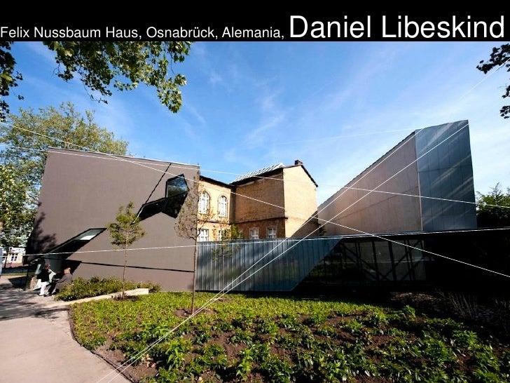 Felix Nussbaum Haus, Osnabrück, Alemania,   Daniel Libeskind