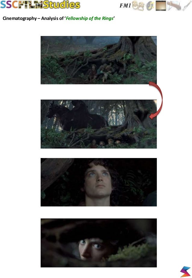 Cinematography – Analysis of 'Fellowship of the Rings'