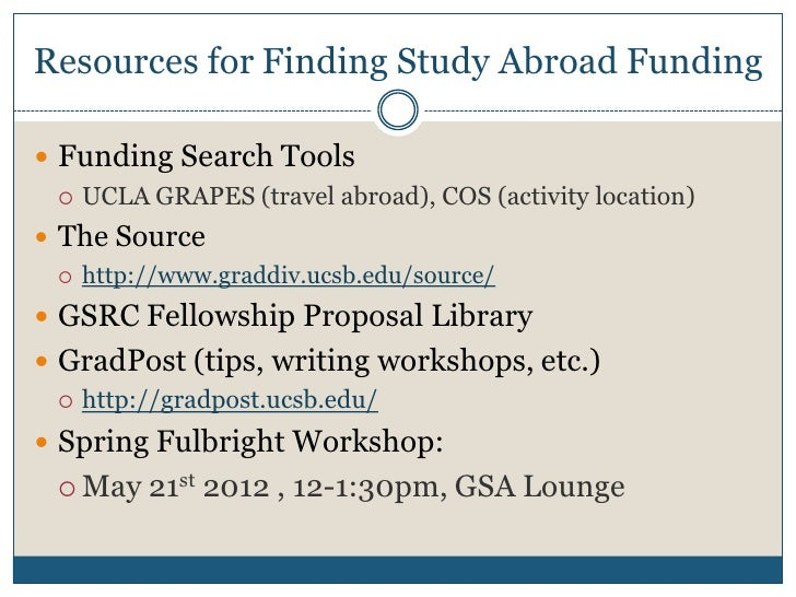 writing fellowships abroad Study abroad how to apply tuition & costs financial aid the summer creative writing institute offers students opportunities to write and share poetry, fiction the recipient of a 2009 guggenheim fellowship in fiction.