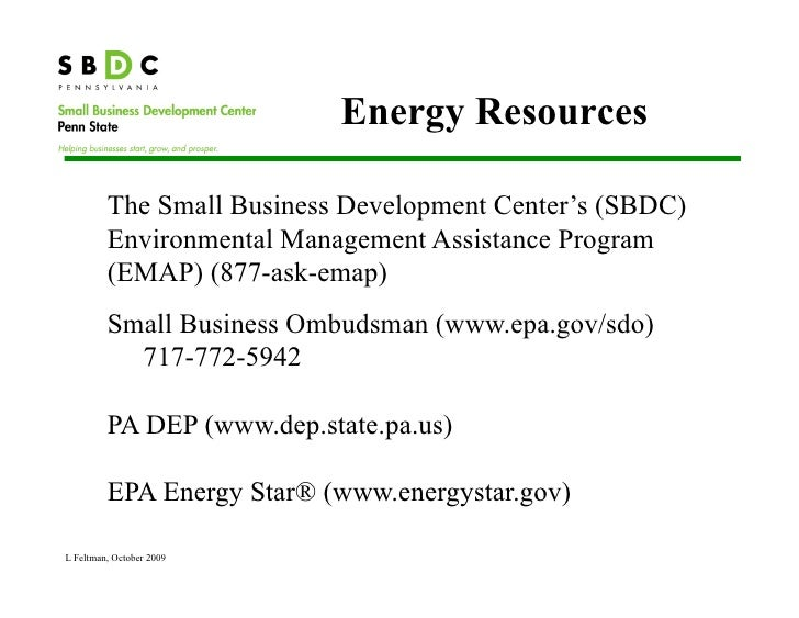 Small Business Development Center Function Rooms