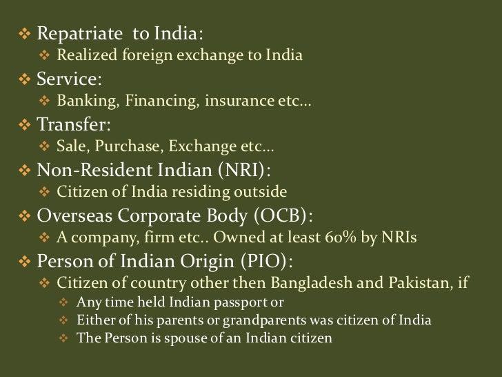 Foreign exchange essay