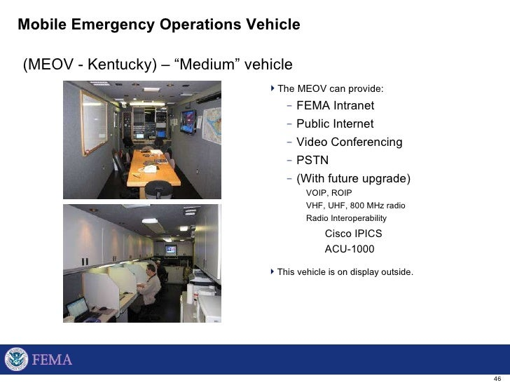 FEMA Region III Introduction to the Regional Emergency
