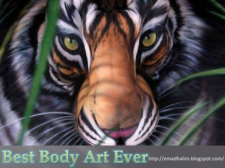Best Body Art Paint Ever