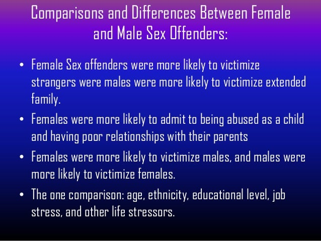 average age of a sex offender