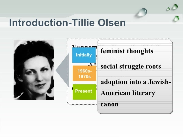 """the effects of parental guidance in i stand here ironing a short story tillie olsen Tell me a riddle tillie olsen us school are considering making tillie olson's short story """"i stand here ironing"""" required reading for parents and."""