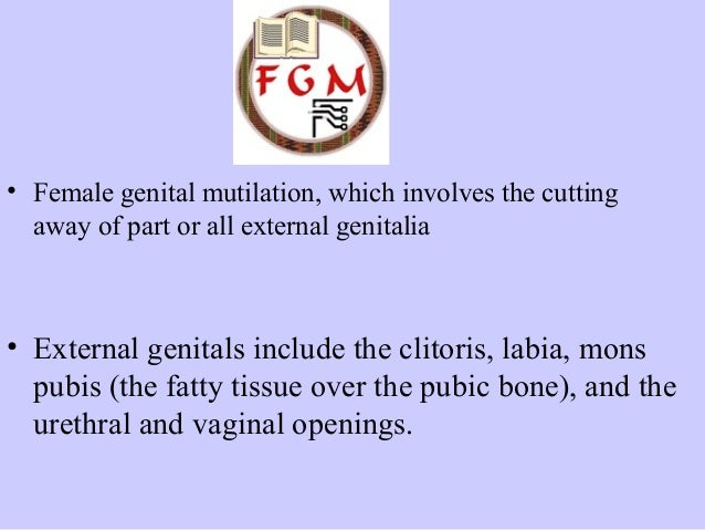 facts on female mutilation and the reasons why different cultures do it for different reasons The horror of female genital mutilation and weakening for different reasons in different cultures or cultural reasons) that's why ethicists are.