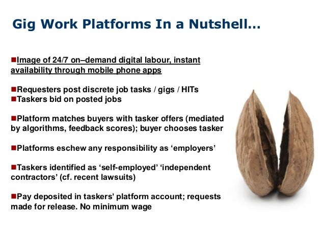 Women in the Gig Economy (Platforms, Social Reproduction) Slide 3