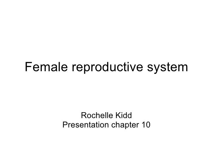 Female reproductive system Rochelle Kidd Presentation chapter 10