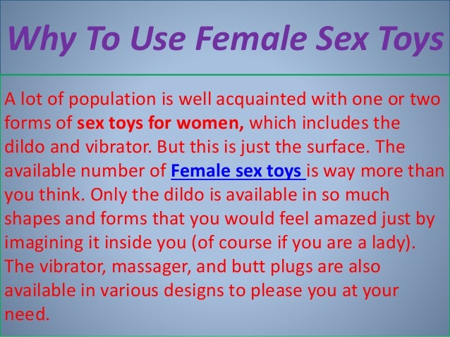 Female sex toys - 웹