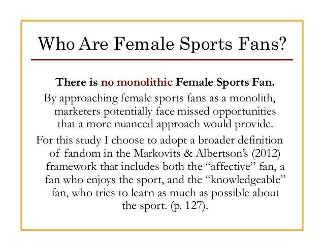 Marketing to female sports fans 12 who are female voltagebd Choice Image