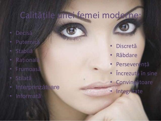 11 Calitati ale unei femei