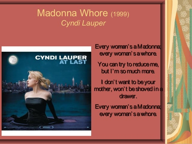 madonna whore complex in the catcher in Fussy mother or hot mama it's all in the folding of the genes.
