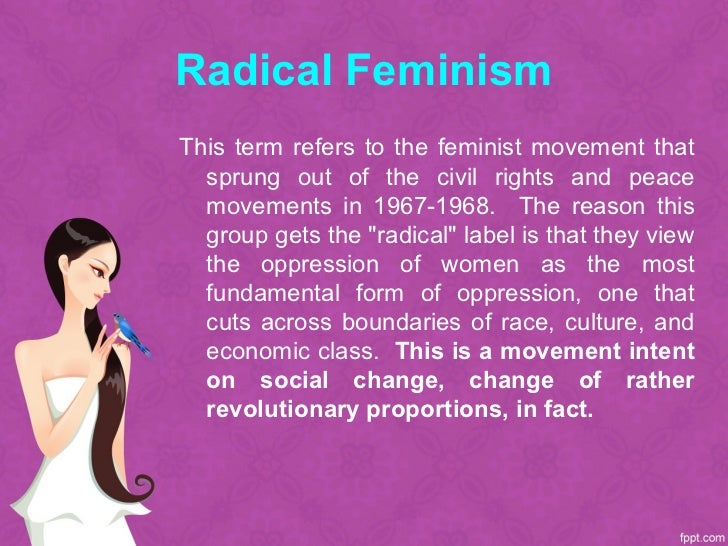 the concept of postmodernism and mainstream feminism A marxist case for intersectionality black feminism or postmodernism/post the mainstream feminist movement of the 1960s and 1970s demanded abortion.