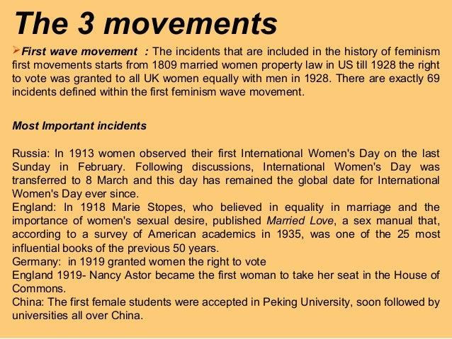 history of feminism pdf