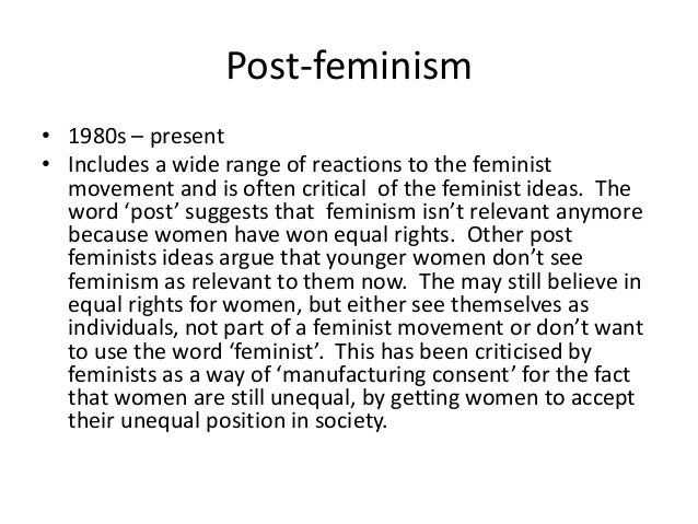 an explanation of feminist criticism One misconception about intersectionality is that it encourages division and exclusion in the feminist movement by including race, class, sexuality, and other identity markers in feminist analysis, some say, intersectional feminists are spreading the movement thin and undermining its unity.