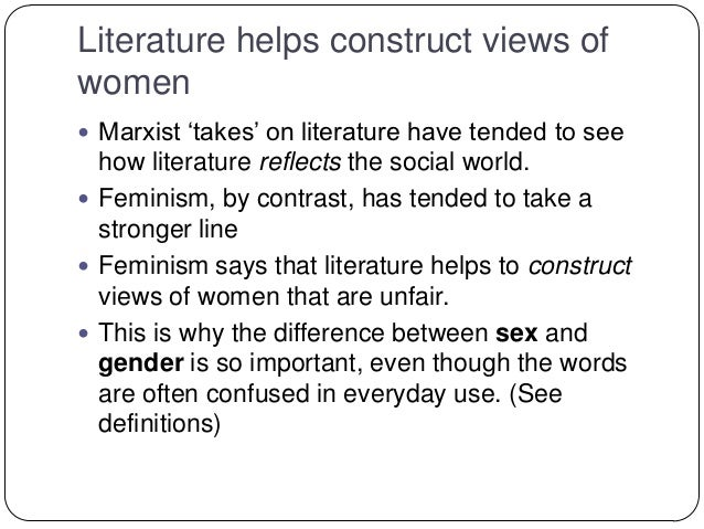 a history of feminist literary criticism Feminist literary criticism looks at literature assuming its production from a male-dominated perspective it re-examines canonical works to show how gender stereotypes are involved in their.