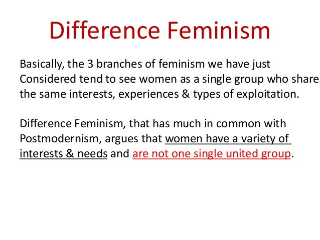 feminism compare and contrast who is Feminism and fundamentalism have at last, if unwittingly, converged on a  significant  feminism belittles the significance of a woman's divine nature  fundamentalism  profoundly poor comparison  easy in the us, and the  contrast with (for example) sub-saharan africa's aggressive hostility towards it.