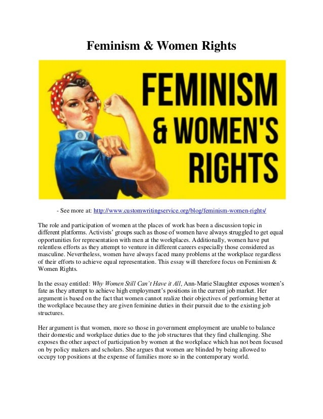 womens rights essay
