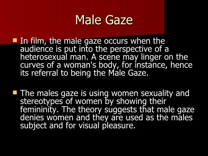 """male gaze theory depicted in american Diana davison: debunking """"the male gaze  diana davison presents a theory on why some people may actually believe that  an american academic has recently ."""