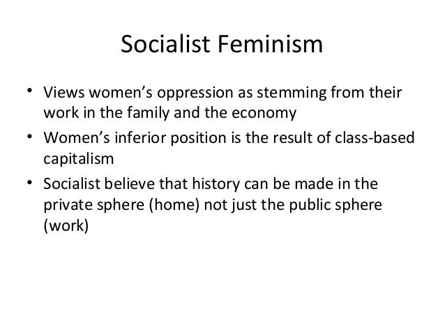 The issue of oppression of feminists in the private sphere