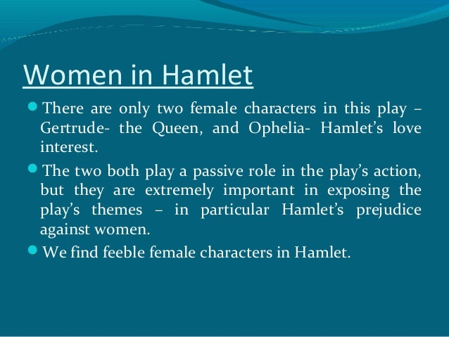 feminist essays on hamlet