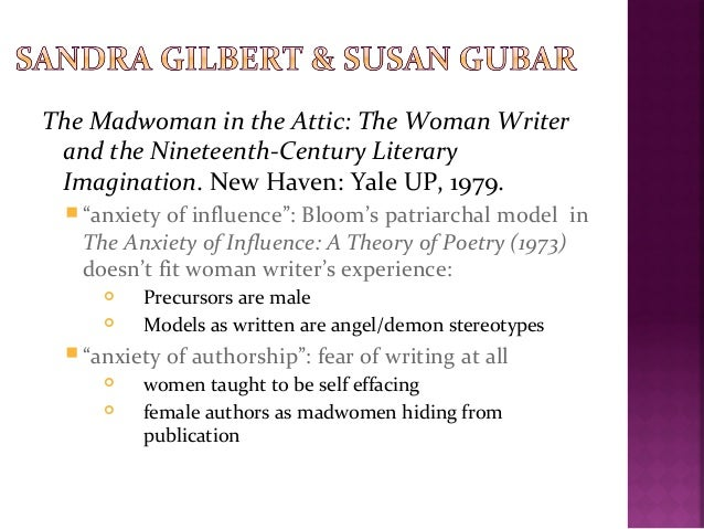 Madwoman in the attic essay writing