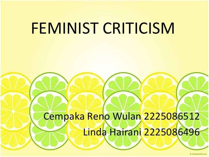 an introduction to the feminism views - the feminist view of the yellow wallpaper the yellow wallpaper is a story about john and his wife who he keeps locked up due to her nervous condition of anxiety john diagnoses her as.