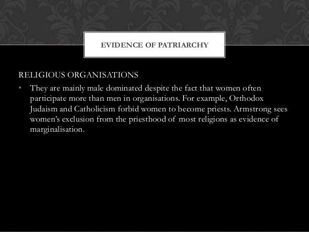 Feminist theories of religion Slide 3