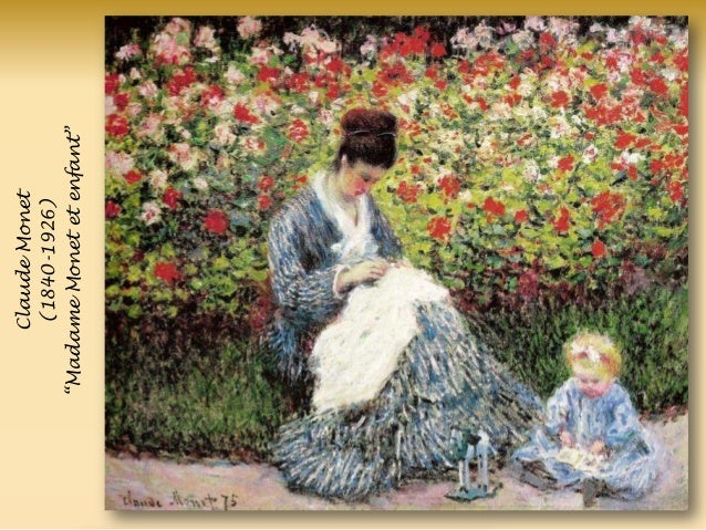 ClaudeMonet (1840-1926) ―MadameMonetetenfant‖