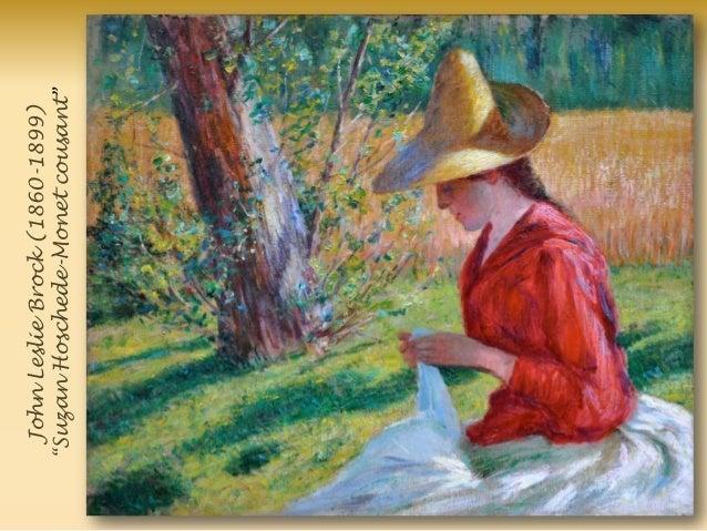 JohnLeslieBrock(1860-1899) ―SuzanHoschede-Monetcousant‖